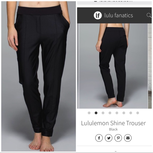 bd10ccfa4a5dab lululemon athletica Pants | Lululemon Shine Trouser | Poshmark